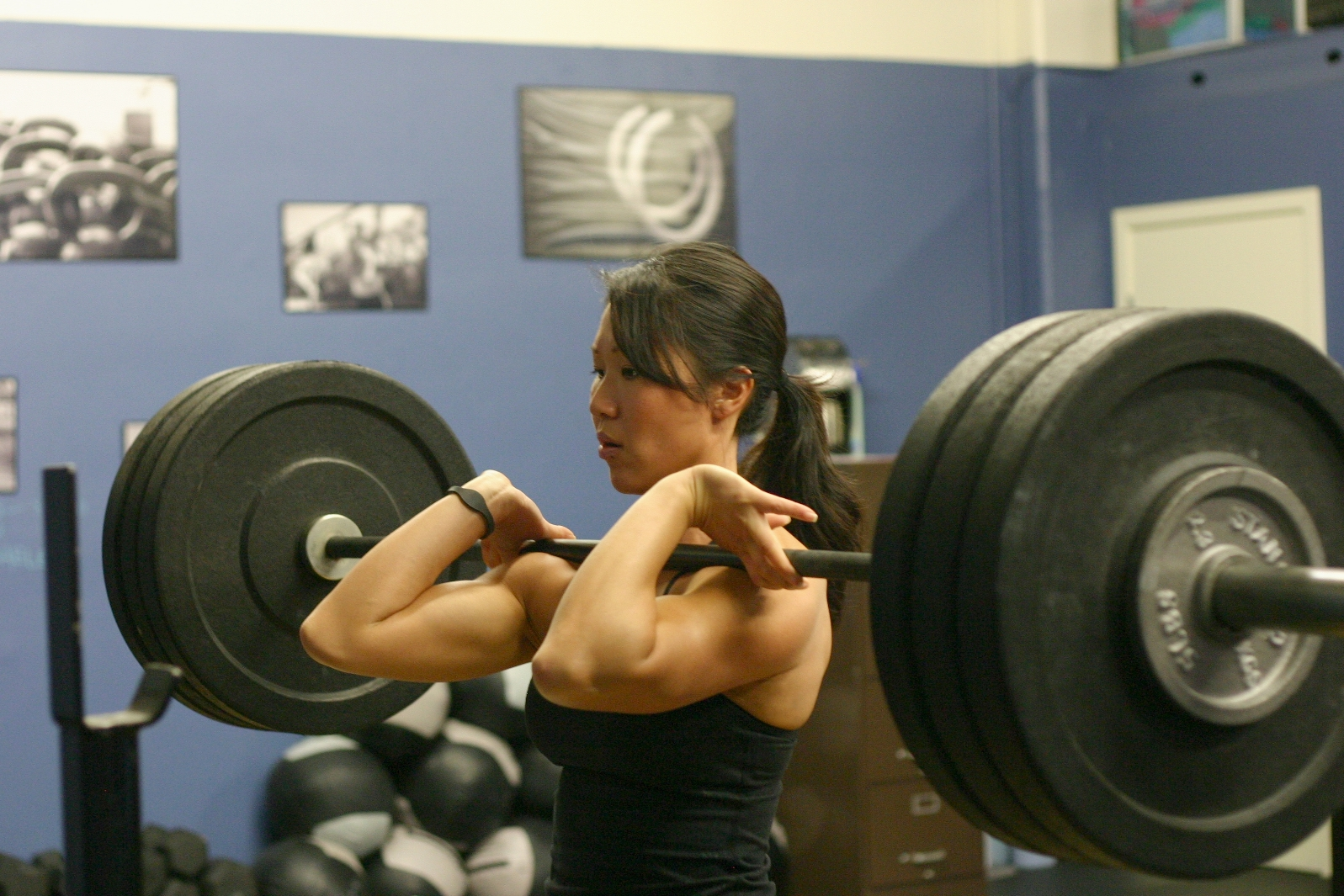 Don T Let Front Squats Hurt Your Wrists Harold Gibbons
