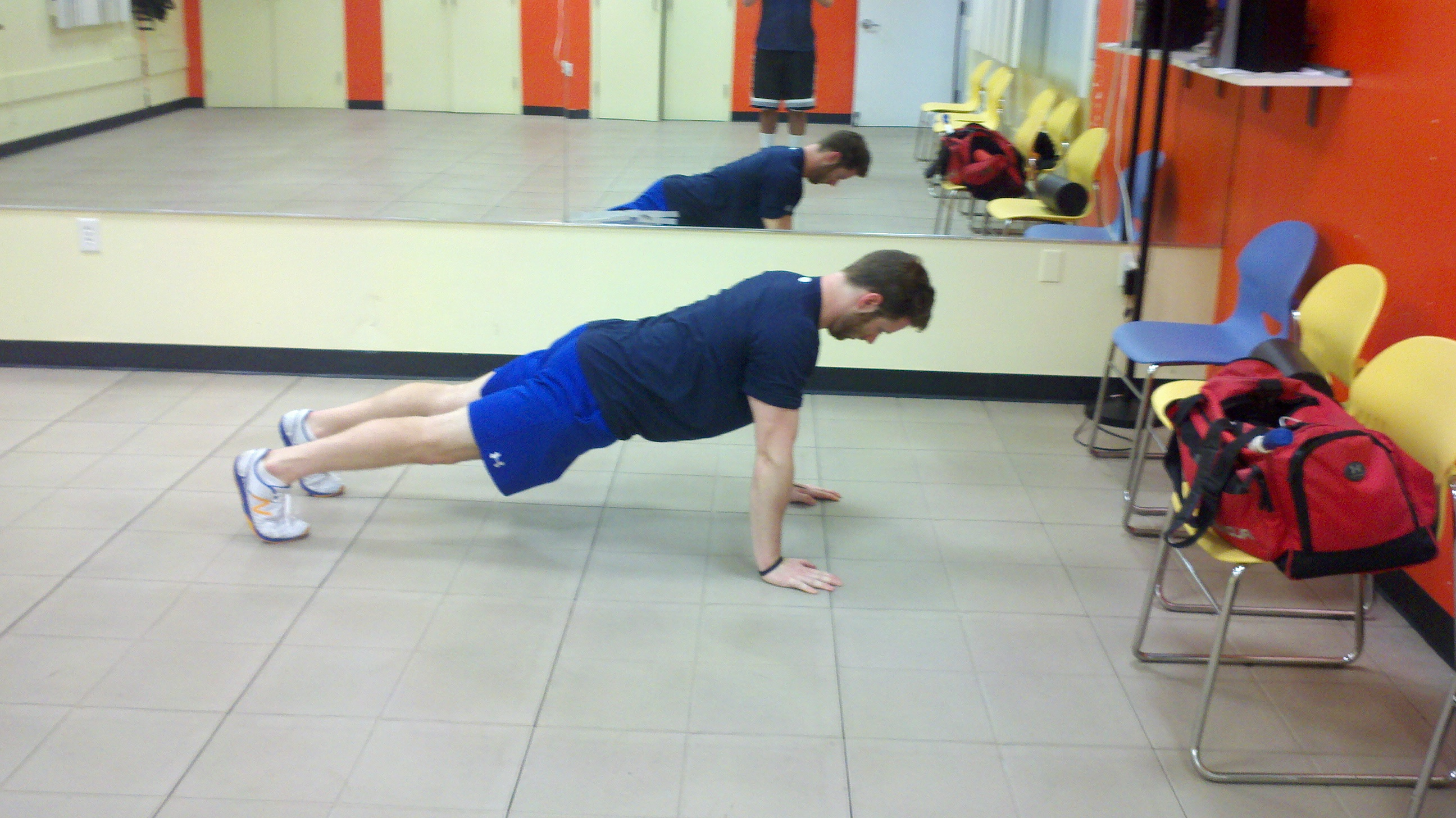 Plank Exercise Move - Viewing Gallery