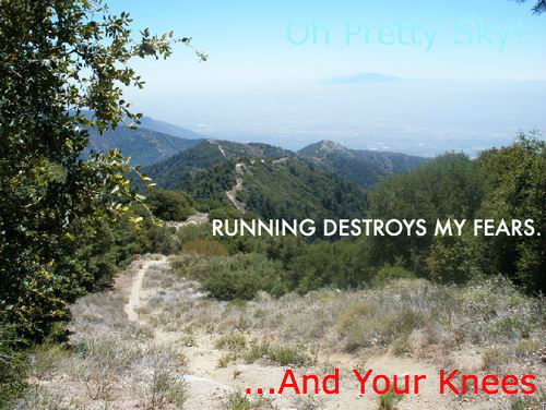 Running Destroys My Knees
