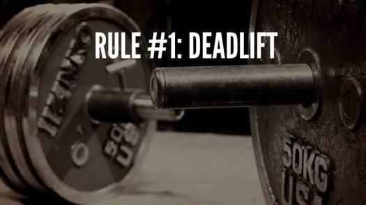 Rule#1Deadlift